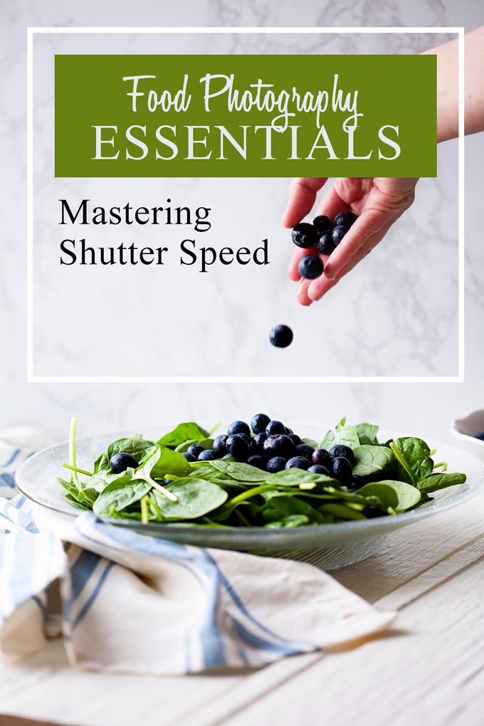Food photography is a lot harder than it looks! One of the keys to getting amazing shots is to master your shutter speed. Find out the secrets the pros use, plus the ONE thing you MUST remember every time you take a shot!