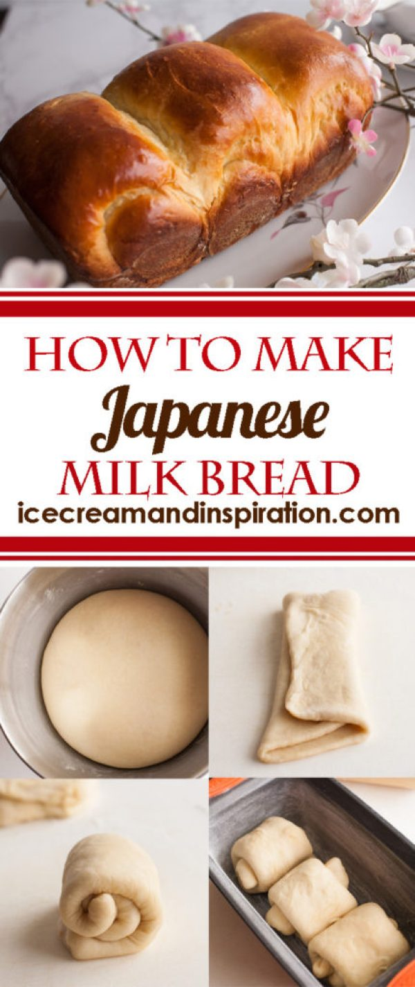 Learn how to make Japanese Milk Bread. Classic Japanese Milk Bread made with cream, milk, and an extra special something that makes it super soft, fluffy, and moist. Stays fresh for days longer than regular bread. (Otherwise known as Shokupan or Hokkaido Milk Bread). It's only the best bread in the world, and I'll tell you why.