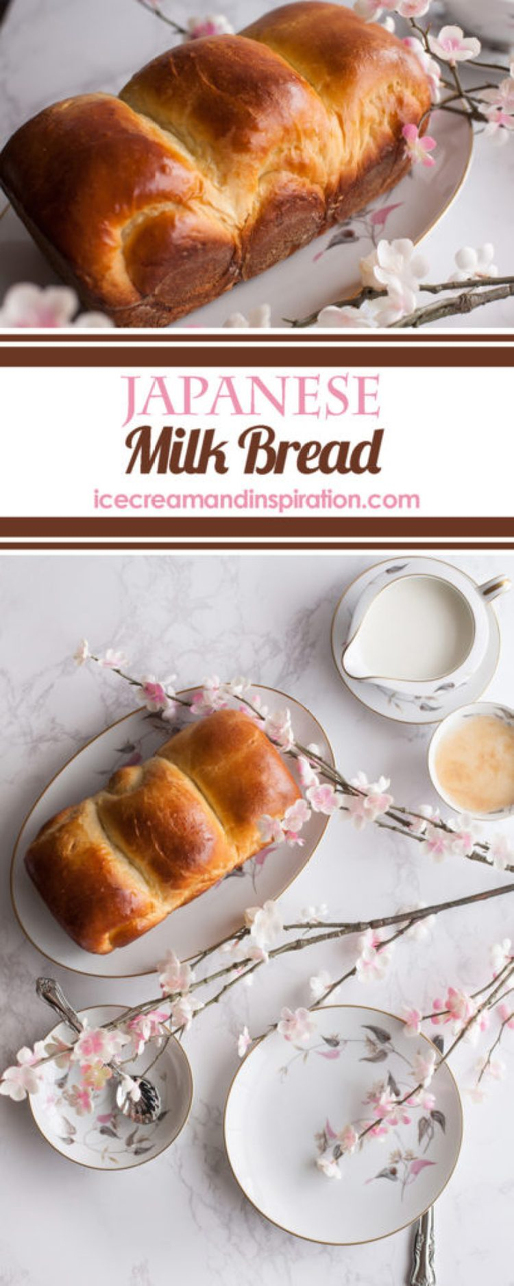 Classic Japanese Milk Bread made with cream, milk, and an extra special something that makes it super soft, fluffy, and moist. Stays fresh for days longer than regular bread. What is Japanese Milk Bread? (Otherwise known as Shokupan or Hokkaido Milk Bread). It's only the best bread in the world, and I'll tell you why.