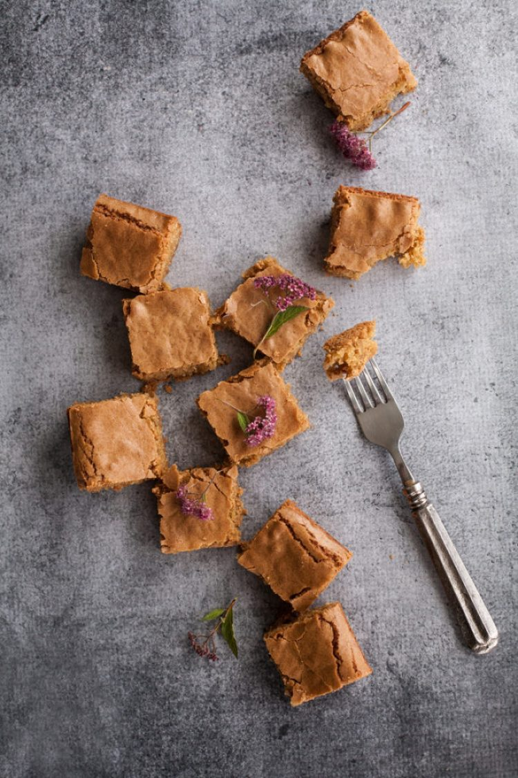 Best Blondie Recipe Ever. Whether you call them Classic Blondies or Butterscotch Brownies, you need this recipe in your life! Perfect to whip up at the last minute for any occasion, these blondies are a crowd-pleaser, every time.