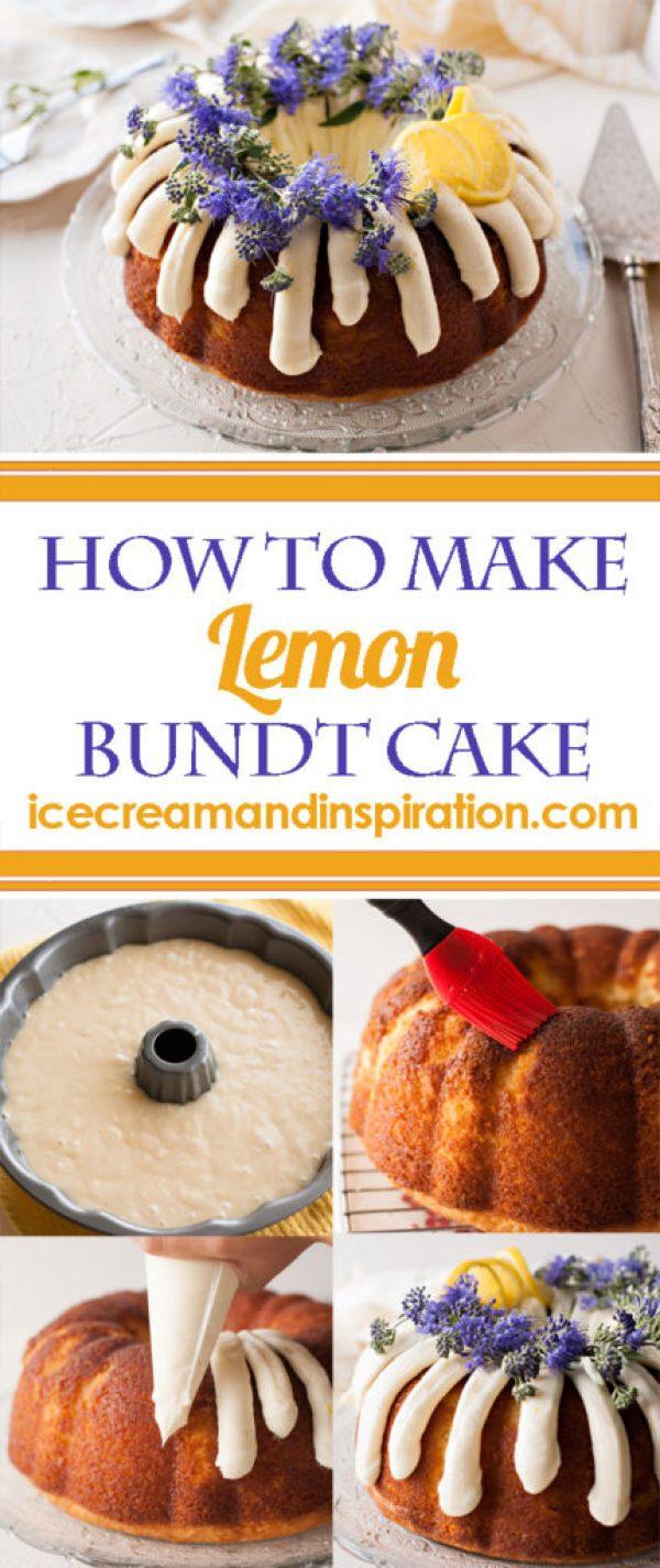 How to Make Lemon Bundt Cake, step by step.