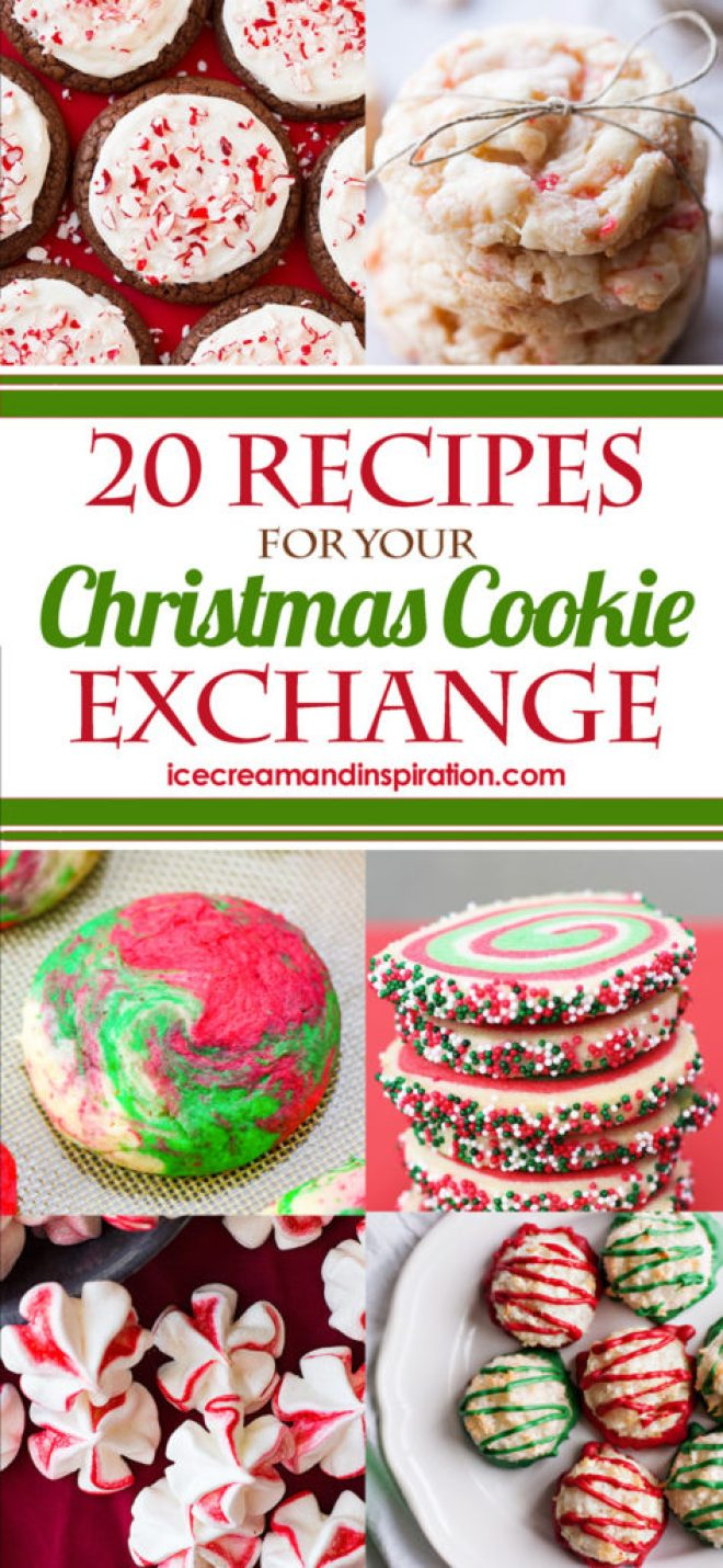 Looking for Christmas cookie ideas for a party or cookie exchange? I've got you covered with these 20 Christmas cookie recipes that will be just perfect for you! Whether you're looking for easy Christmas cookies (like no-bake and drop cookies), fancy cookies (like slice-and-bake and dipped cookies), or unique Christmas cookies that will truly impress, you'll find them here!