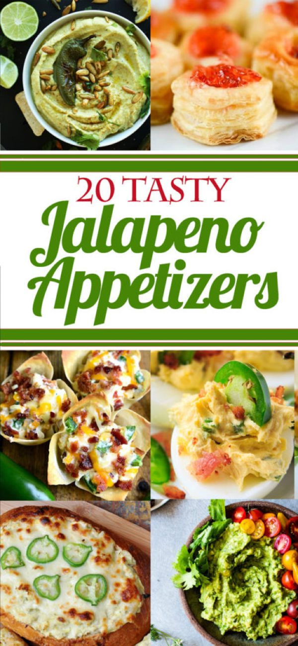 Who knew jalapenos could be so versatile? I've rounded up 20 tasty jalapeno appetizers for your next party! Stay right here if you're looking for stuffed jalapeno pepper recipes, jalapeno dip recipes, recipes with jalapeno jelly, and everything in between!