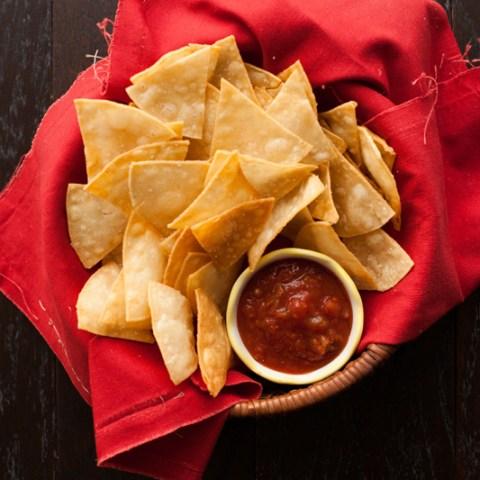 Homemade Tortilla Chips From Scratch