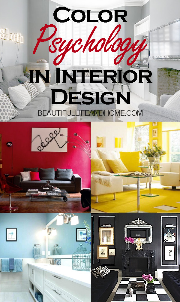 Have you ever wondered about the psychological effects of color in your home? Are there colors that affect your mood? Can certain colors make you happy and energetic, and others make you calm and relaxed? Read on for the answers to these questions, and then take a look at your own home!