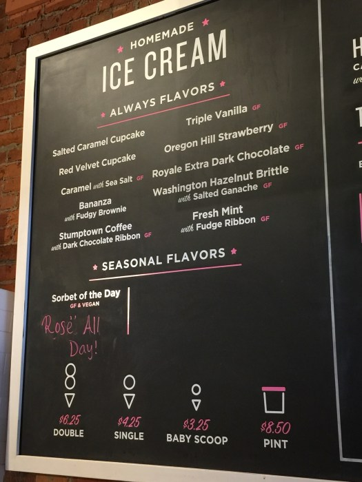 Cupcake Royale Flavor Menu