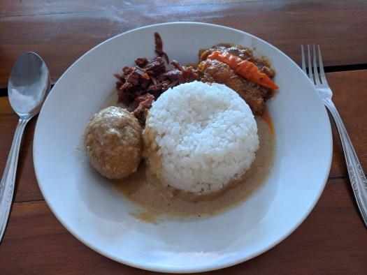 Gudeg in Yogyakarta