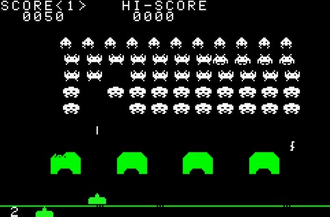 Space Invaders, retro gaming, arcade gaming