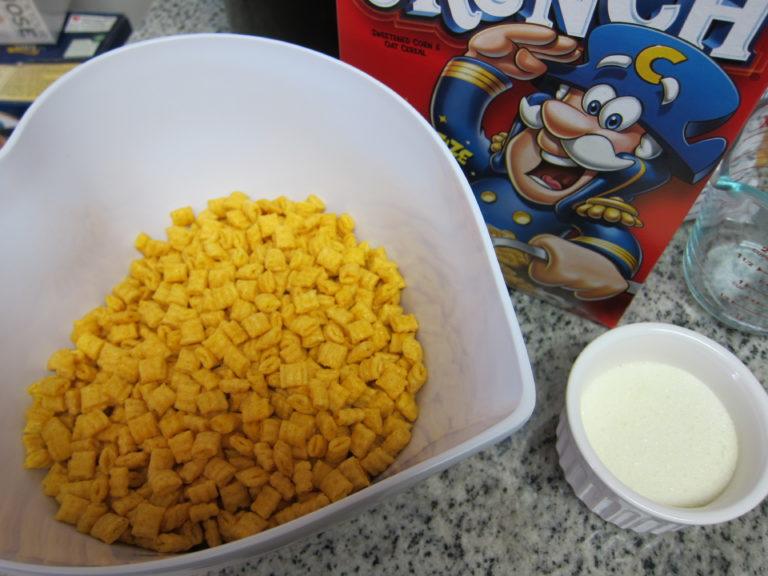 Captain Crunch preparation