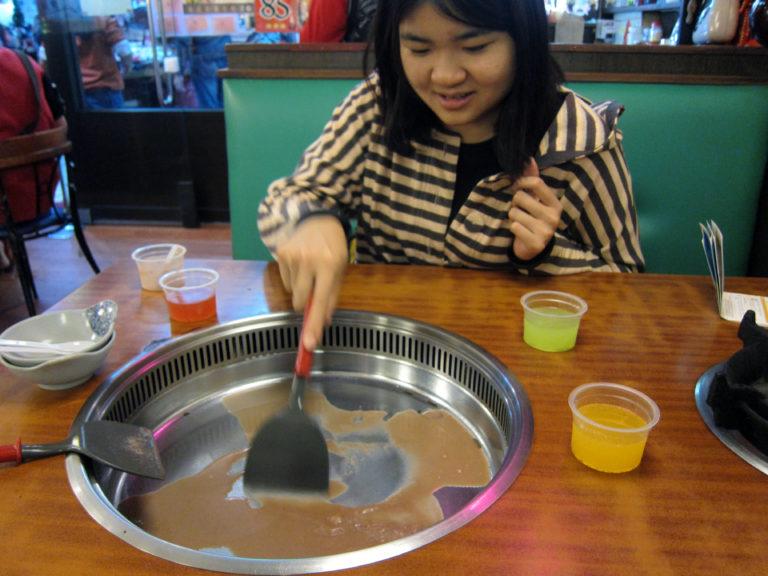 Cold pot ice cream