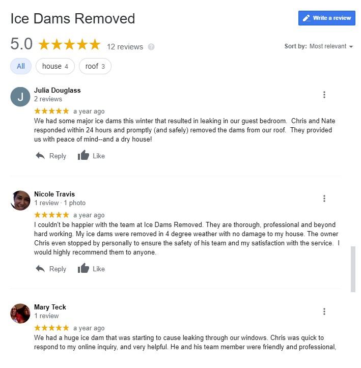 5 Star Customer Reviews Photo