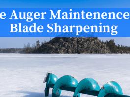 ice auger blade sharpening