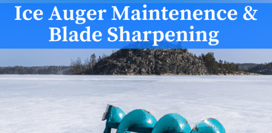 ice auger blade sharpening