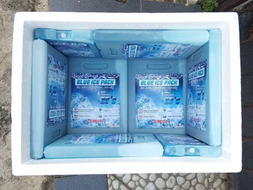 Ice Pack untuk pengiriman sayur