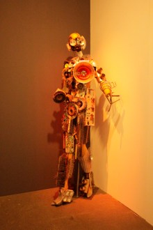 """Some crazy robot stuff he made for an avant-garde movie in 1962 called """"Concerto"""""""