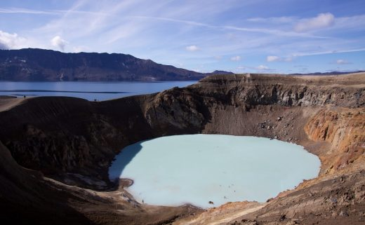 Cratère de Víti à Askja