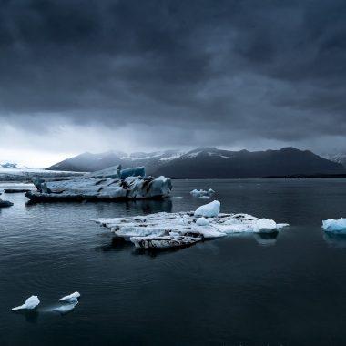 Photo glacier Islande