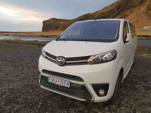Private tours in Iceland in a luxury vehicle.