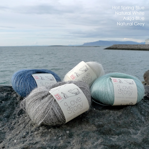 Love Story yarn, pure Icelandic lambswool fine 1 ply lace (1)