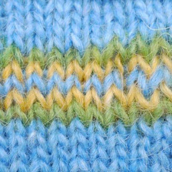 Tips & techniques - Jogless join - Icelandic Knitter - Hélène ...