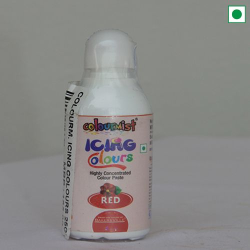 COLOURMIST ICING COLOURS 25GM RED