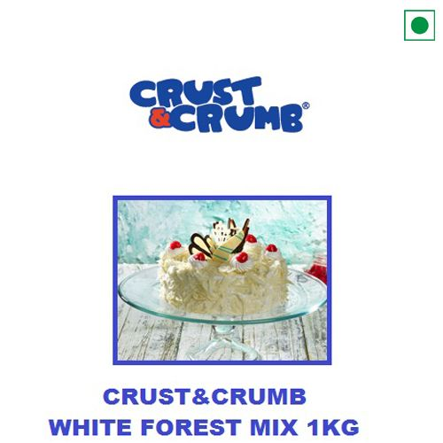 CRUST'N'CRUMB WHITE FOREST CAKE MIX 1KG