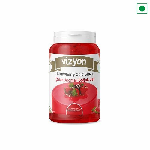 VIZYON STRAWBERRY GLAZE 200GM