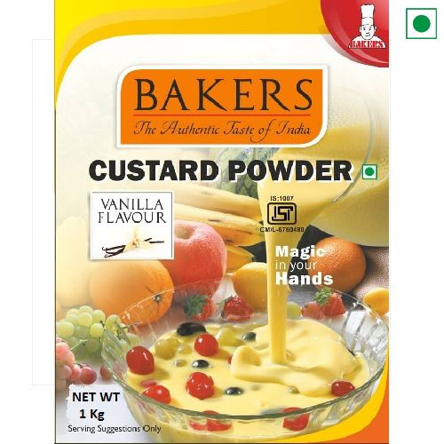 BAKERS CUSTARD POWDER 1KG