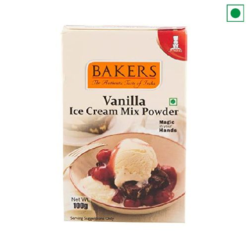 BAKERS VANILA ICECREAM POWDER 100GM