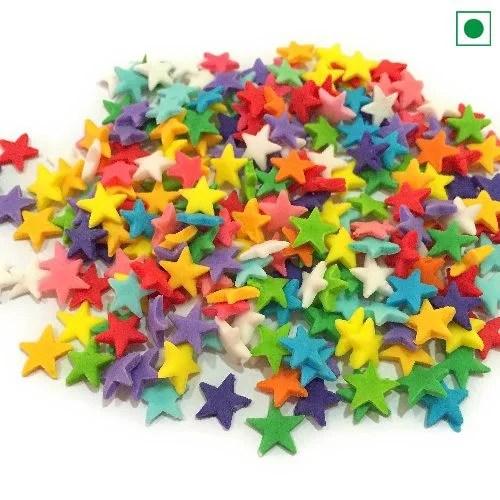 SUGAR SPRINKLES COLOUR STAR 25GM