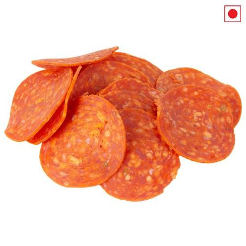 QUICKEES / MFC CHICKEN PEPPERONI SLICE 500g