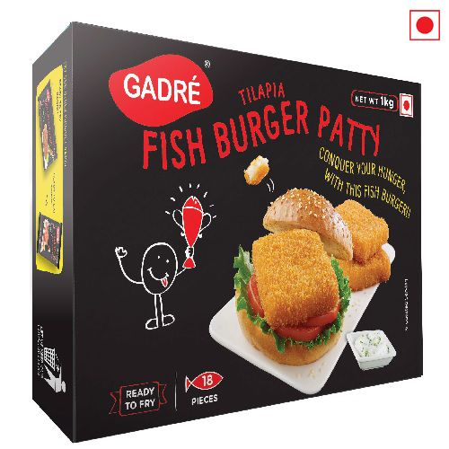 GADRE FISH BURGER PATTY 1KG