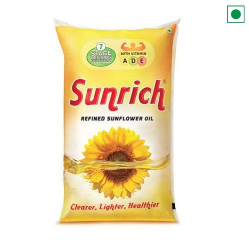 SUNRICH SUNFLOWER OIL 1LTR POUCH