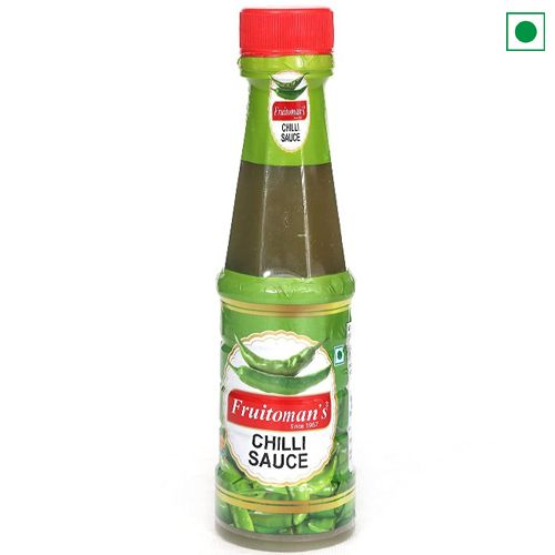 FRUITOMAN'S GREEN CHILLY SAUCE 200GM