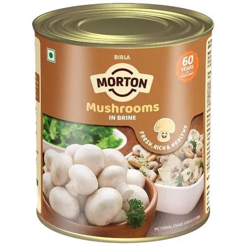 MORTON BUTTON MUSHROOM IN BRINE 800g