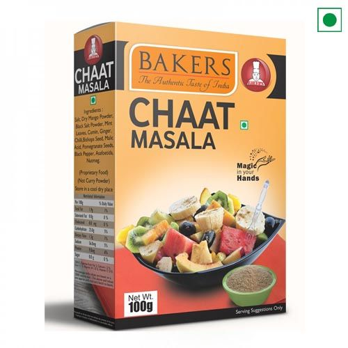 BAKERS CHAT MASALA100GM