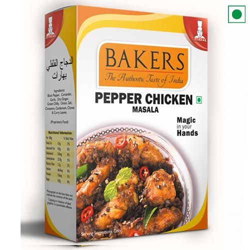 BAKERS PEPPER CHICKEN MASALA 100GM