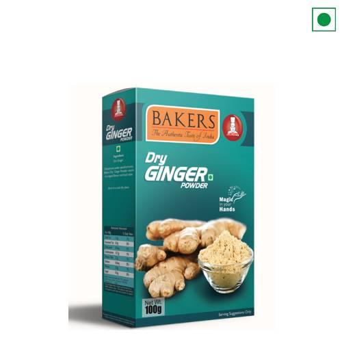 BAKERS DRY GINGER 100GM