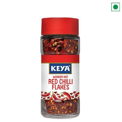 KEYA RED CHILLY FLAKES 40GM