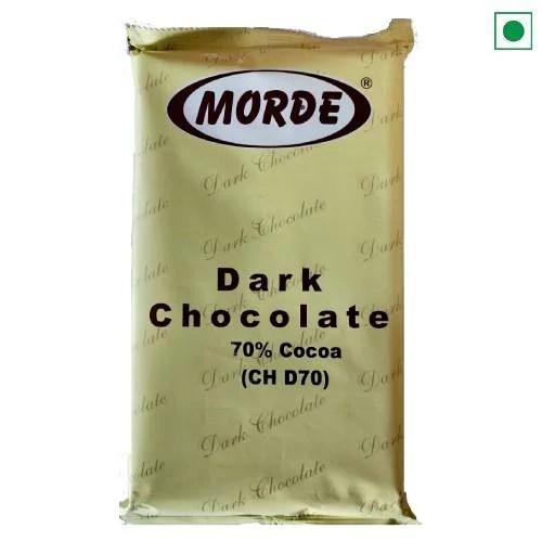 MORDE DARK CHOCOLATE 70% 500GM