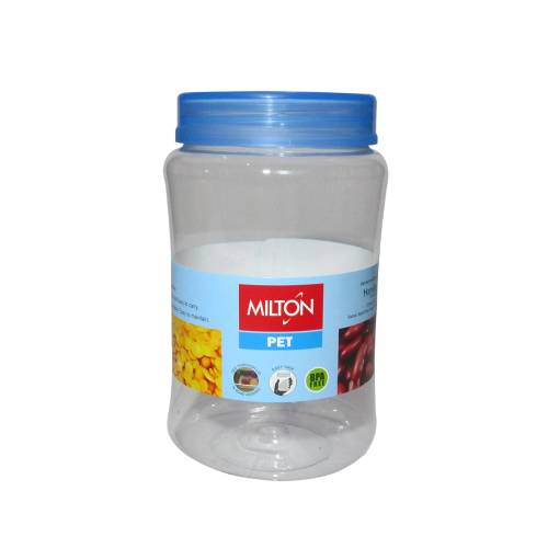MILTON CRISP N CLEAR ROUND STORAGE PET JAR 1000ML