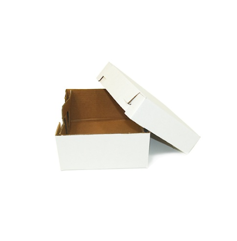 CAKE BOX WHITE COLOUR CORRUGATED (TOP AND BOTTOM TYPE) 16X20 INCH