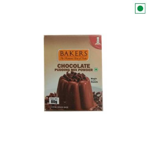 BAKERS CHOCOLATE PUDDING MIX 80G