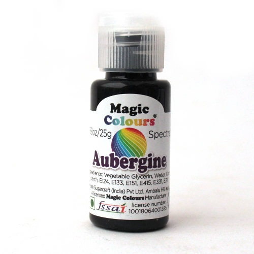 MAGIC COLOURS AUBERGINE 25GM