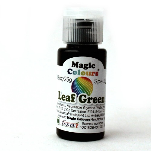 MAGIC COLOURS LEAF GREEN 25GM