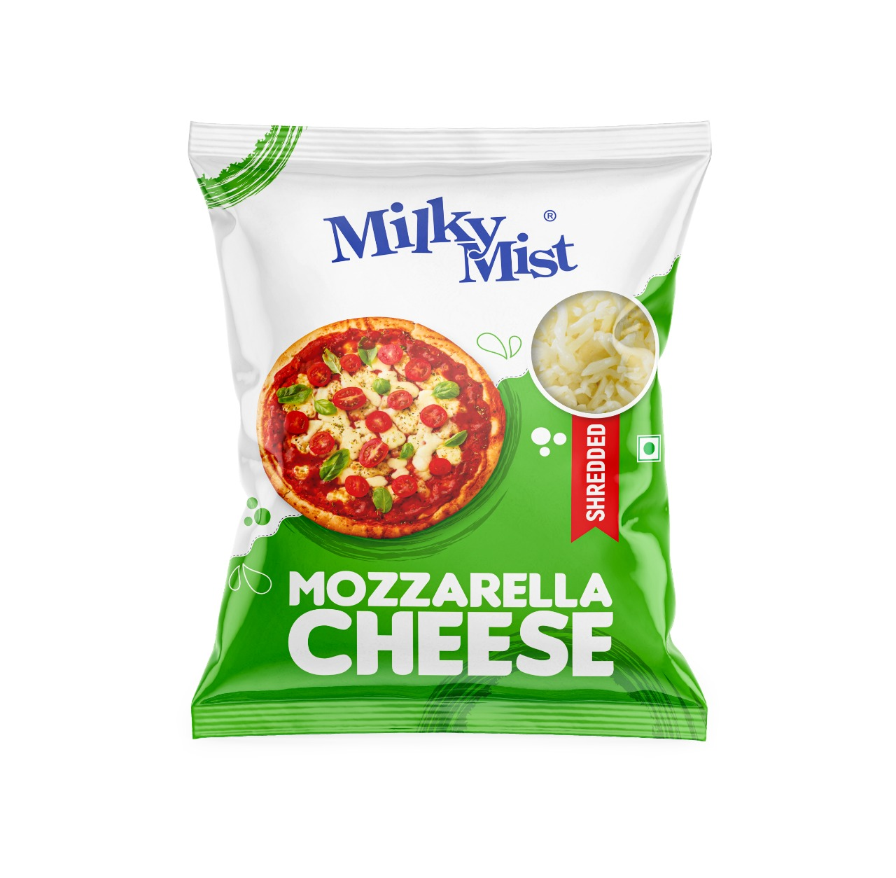 MILKY MIST SHREDDED MOZZARELLA CHEESE 200GM