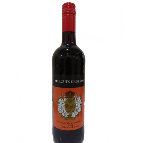 MARQUES DE FERRO NON ALCOHOLIC WINE 750ml