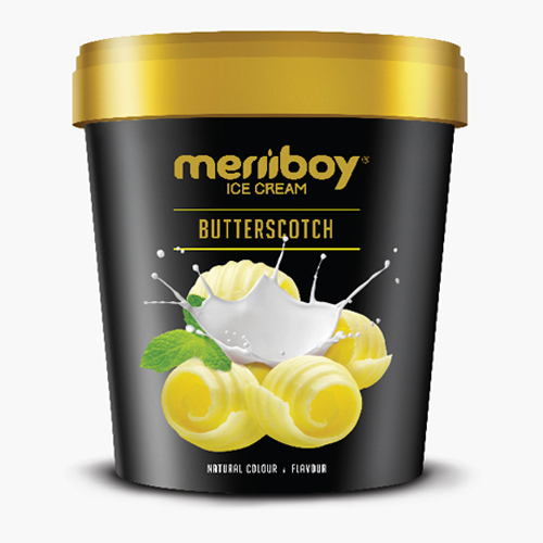 MERIIBOY BUTTERSCOTCH ICE CREAM 500 ML
