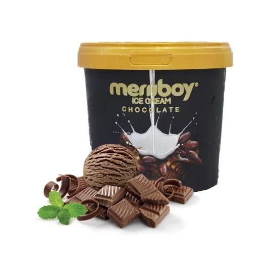 MERIIBOY CHOCOLATE ICE CREAM 1 LTR