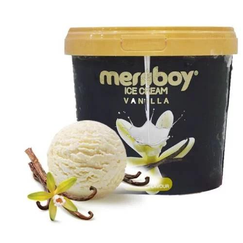 MERIIBOY VANILA ICE CREAM 500 ML